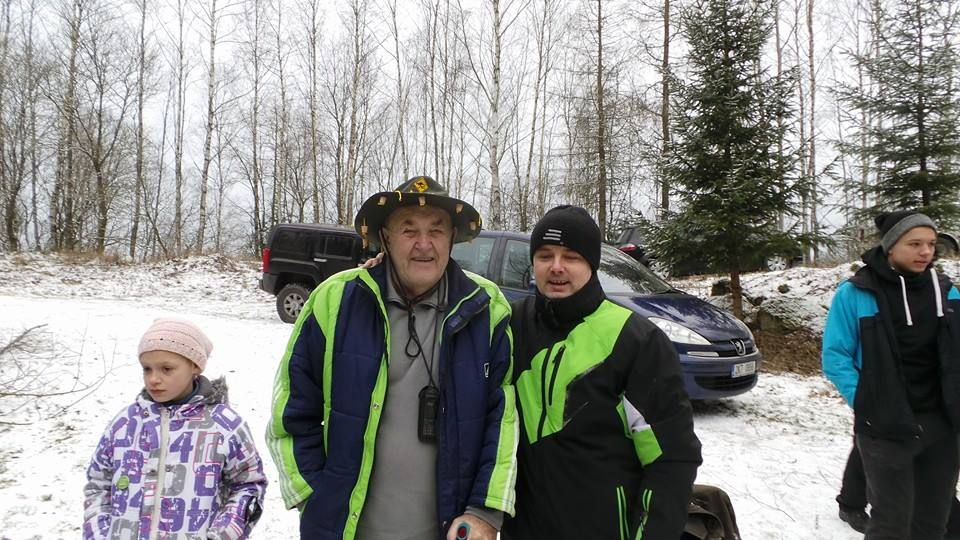 já a můj učitel potápění Vladimír Král